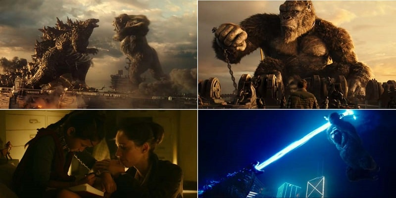 Review of movie Godzilla vs Kong